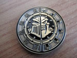 Steamroller 2011 medal