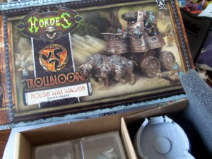 Trollkin War Wagon